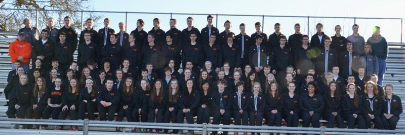 by: JOHN BREWINGTON - 2013 Scappoose High Track Team