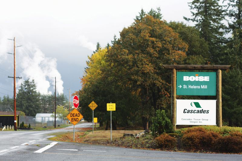 by: SPOTLIGHT FILE PHOTO - SPOTLIGHT FILE PHOTO After Boise Inc. announced its closure last year, Cascades Tissue Group wasn't sure if it could remain at its St. Helens location. Now the company is discussing a possible expansion.