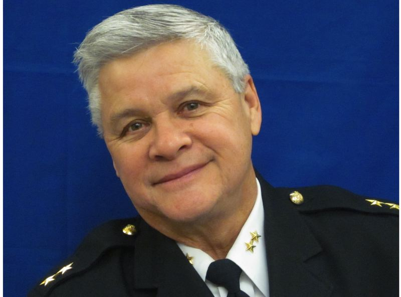 by: COURTESY PHOTO: CITY OF HILLSBORO - Interim Police Chief Ron Louie, a former Marine and a veteran of the Vietnam War, is not interested in taking the chiefs job permanently.