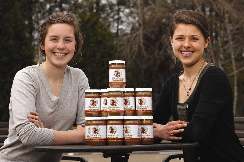 by: TIMES PHOTO: JAIME VALDEZ - Keeley Tillotson, left, and Erika Welsh have run their peanut butter company Wild Squirrel since 2011. After getting into a legal battle over copyright issues, the company announced last week it would be changing its name.