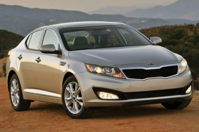 by: KIA MOTORS NORTH AMERICA - The 2013 Optima is Exhibit A in Kia's masterplan for world domination.