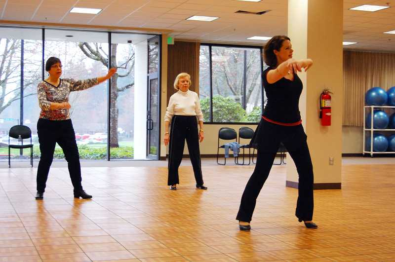 by: SUBMITTED PHOTO - There are many adult dance classes offered through the Lake Oswego Parks and Recreation Department, including tap dancing.