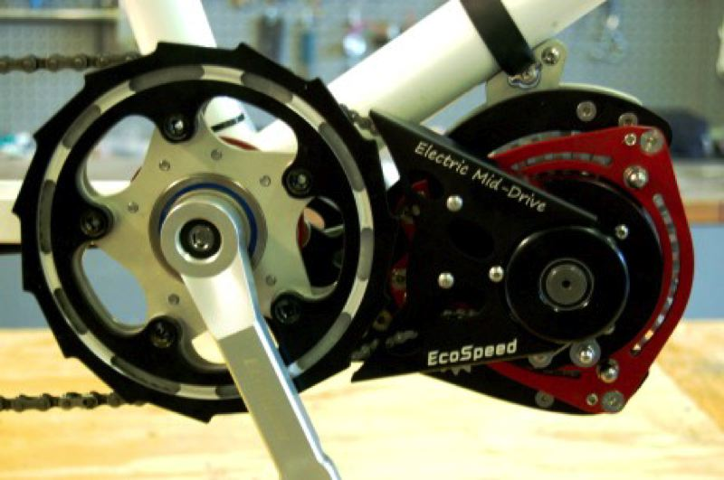 by: COURTESY OF ECOSPEED - New electric motor drive being tested locally.