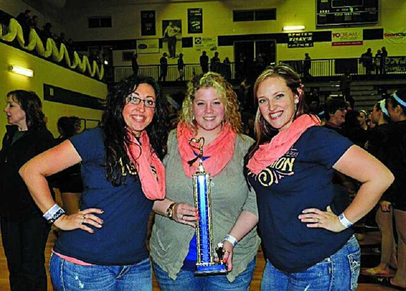 by: SUBMITTED PHOTO - Debs coaches are, from left, Amanda Wilcox, Karissa Hanno and Angie Sharpe.
