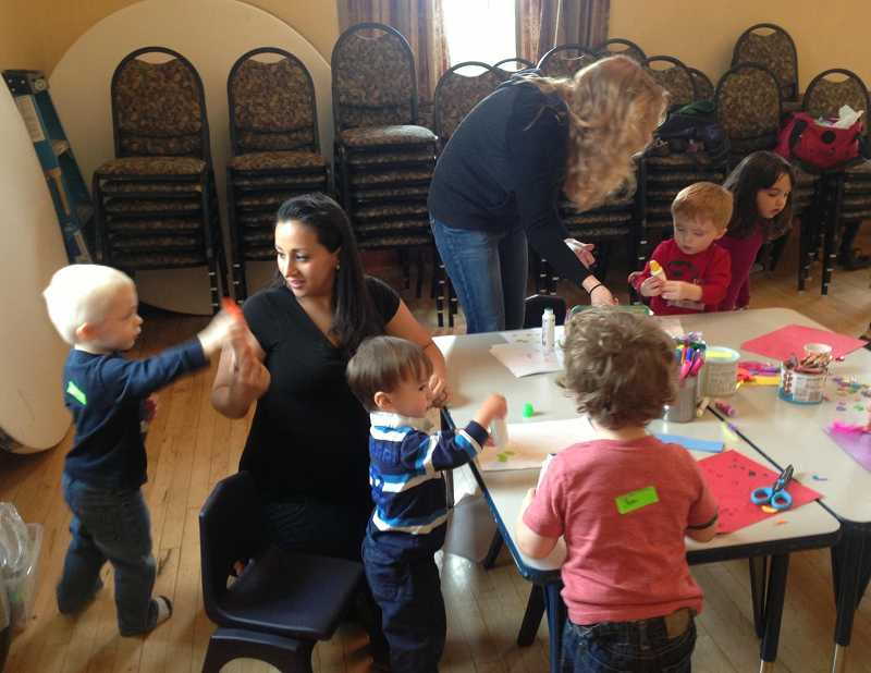 by: SUBMITTED - A Healthy Start - Healthy Families playgroup is thriving in West Linn. Margaret Kiker is supervisor of the program.
