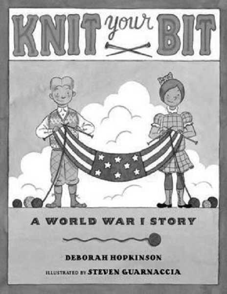 by: SUBMITTED - West Linn author Deborah Hopkinson recently released a book documenting the important role of knitting during World War I.