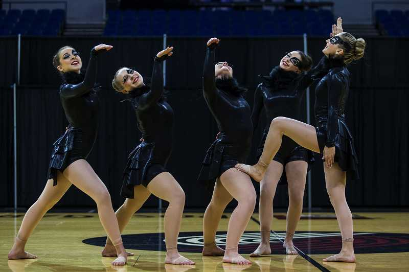 by: CHRISTOPHER ONSTOTT - Lakeridge High School came in sixth out of 14 dance teams in its division at the OSAA state competition.