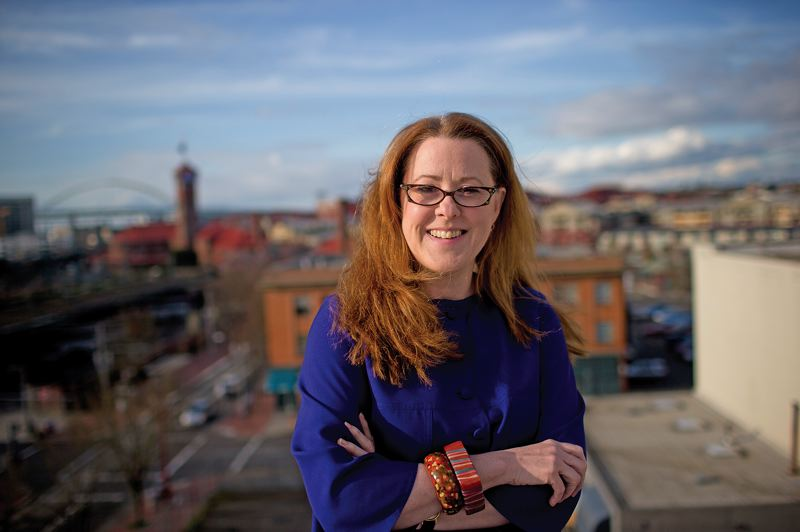 by: TRIBUNE PHOTO: CHRISTOPHER ONSTOTT -  Media strategist Lisa Donoughe of Watershed, a food and drink consulting company, has used her connections in New York City to bring attention to Portland's food and wine scene.