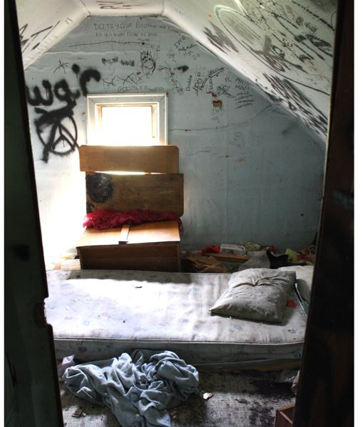 by: SPOTLIGHT PHOTO: KATIE WILSON - The city of Scappooses two new ordinances could address this long-vacant property in Scappoose where police have found evidence of squatters and drug use.