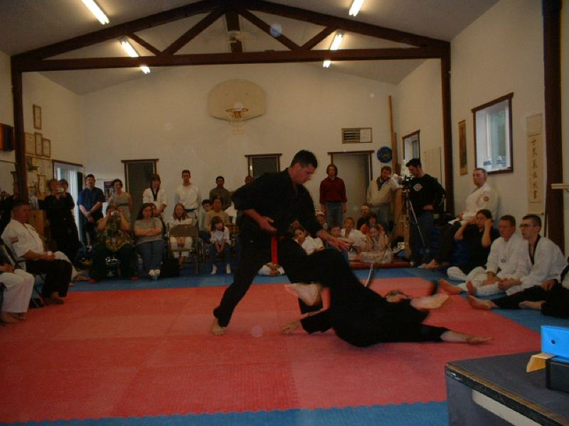 by: PHOTO COURTESY: TRAILS END MARTIAL ARTS - Howard Griffiths of Trails End Martial Arts teaches 'survival mind-set' and physical-training techniques in Oregon City Community Education programs.