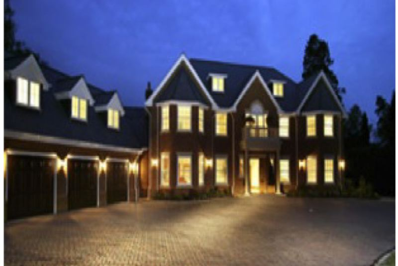 by: CONTRIBUTED PHOTO - Good lighting is one of the best ways to discourage burglars and home invaders.  CONTRIBUTED PHOTO