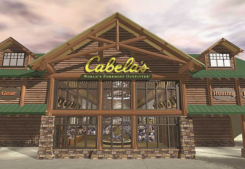 by: SUBMITTED PHOTO - A 110,000-square-foot Cabela's store will be constructed in the Nyberg Rivers Center. It will be the largest Cabela's in the state.