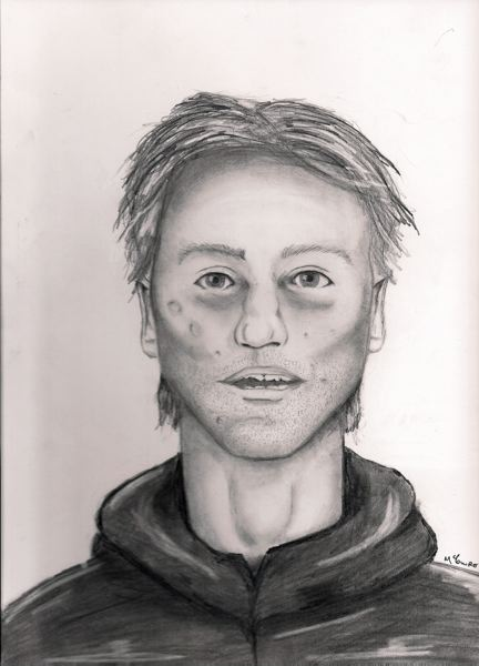 by: COURTESY PORTLAND POLICE BUREAU - Sketch of sexual assault suspect