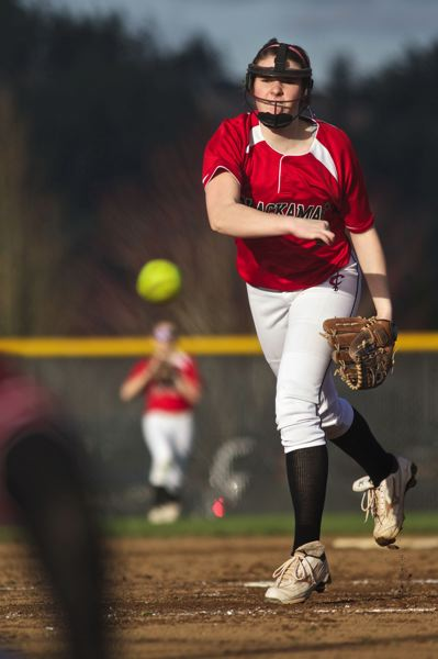 by: JAIME VALDEZ - Coach Dave Just says improved accuracy by pitcher Madison Vrabel has helped lead to a turnaround in Clackamas High School softball. After going 0-3 to start the season, the Cavaliers won five games in a row. Clackamas begins league play next Monday with an away game with Lake Oswego.
