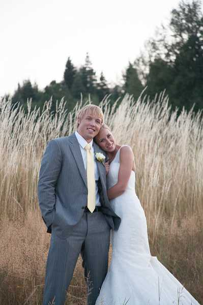 by: SUBMITTED PHOTO: ROBERTA CLOUTIER, HOLLAND STUDIO - Mr. and Mrs. Brannon Halvorsen