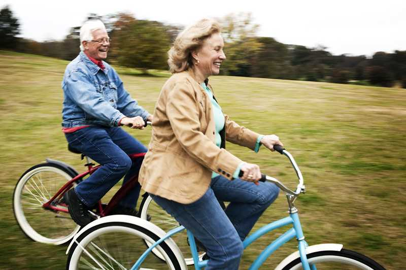 by: SUBMITTED PHOTO - Enjoy a spring bike ride with friends from the Lake Oswego Adult Community Center.