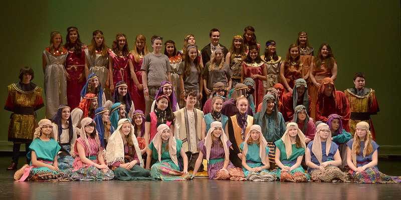 by: TIDINGS PHOTO: VERN UYETAKE - The 'N' cast will perform its first show on April 12 at 7 p.m.