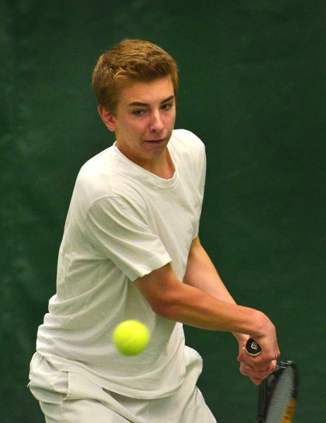 by: VERN UYETAKE - Russell Risenhoover takes over at No. 1 singles for the Lions this year.