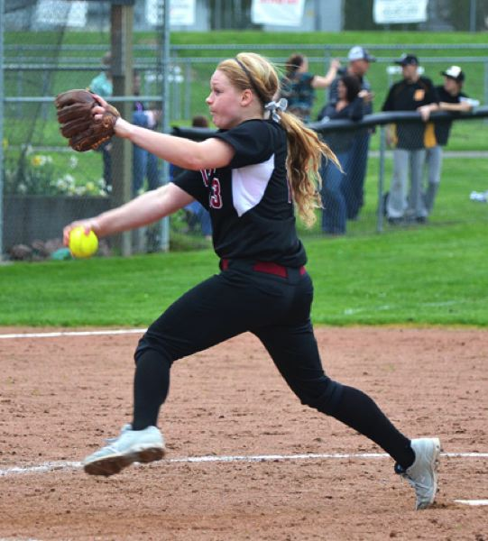by: JOHN BREWINGTON - Glencoe's Katie Sutherland-Finch is regarded as the state's top fastpitch pitcher.