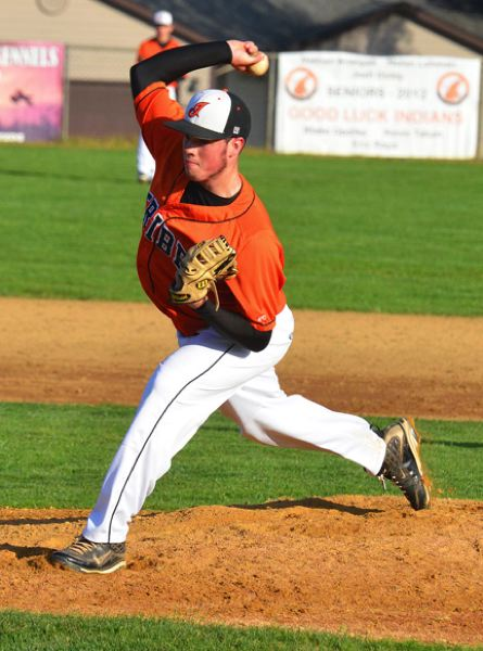 by: JOHN BREWINGTON - Will Sprute pitched all seven innings for Scappoose on Tuesday, posting a 4-3 win.