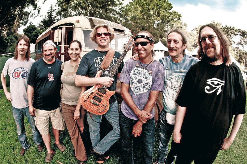 by: COURTESY OF DARK STAR ORCHESTRA - They aren't Jerry Garcia and his Grateful Dead bandmates, but Dark Star Orchestra has garnered much acclaim for their spot-on rendition of Dead songs and concerts. They'll play the Crystal Ballroom April 18-19.