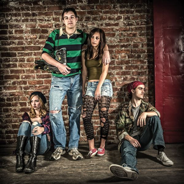 by: COURTESY OF OWEN CAREY/PAC - Portland  Actors Conservatory examines youthful angst, inertia and anger in 'subUrbia'  through April 28 at Firehouse Theatre.