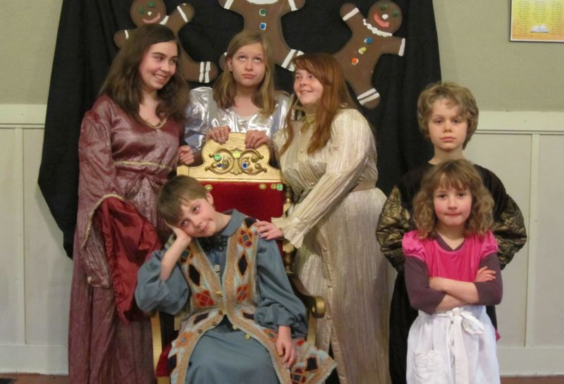 by: CONTRIBUTED PHOTO: KELLY LAZENBY - CONTRIBUTED PHOTO: KELLY LAZENBY In this photo, the handsome prince, Keaton Meyers (seated), is surrounded by some of his admirers, from left standing, Katelynn Leslie, Ella Niewert, Jeanette Helgerson, Coen Niewert and Audrey Lazenby.