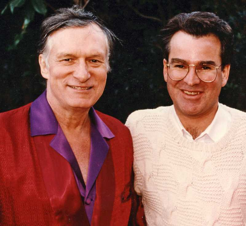 by: SUBMITTED - Hugh Hefner was having bad luck with personal photographers until he met Larry Logan, at right.