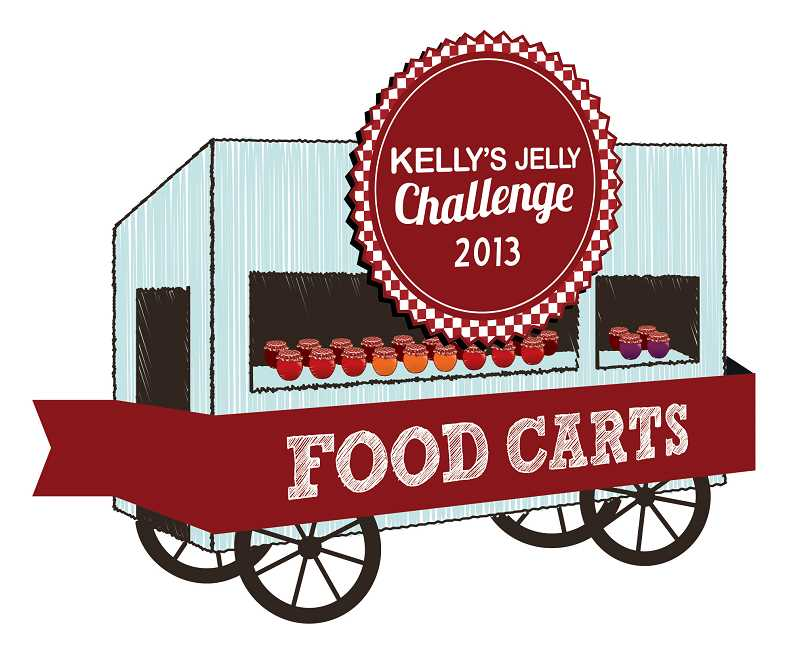 by: SUBMITTED PHOTO - Kelly Calabria's Halapeno Pepper Jelly won the national 2012 Scovie Award. It will be the key ingredient in the second Kelly's Jelly Challenge, which pits food cart chefs against each other to see who can create the most delicious dish using the fiery food.