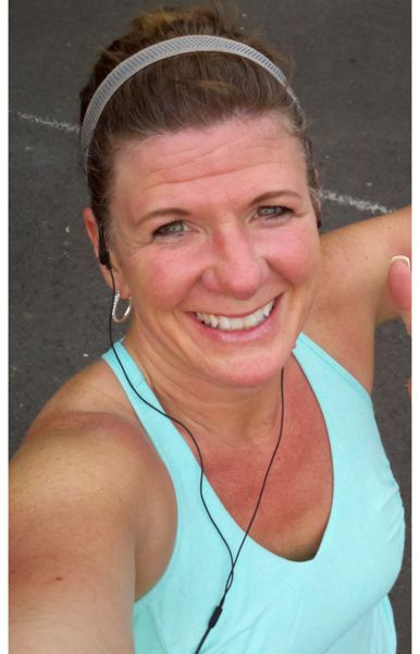 by: COURTESY OF MICHELLE LAVINE - Sherwood runner Michelle LaVine told worried friends and family members via text message 'Im safe,' following the Boston Marathon explosions.