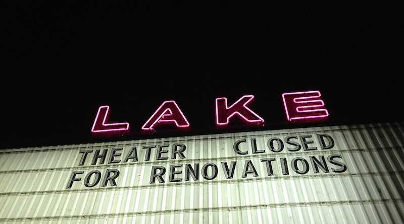 by: SUBMITTED PHOTO -  Lake Twin Cinema will reopen in August as Lake Theater and Cafe. SUBMITTED PHOTO