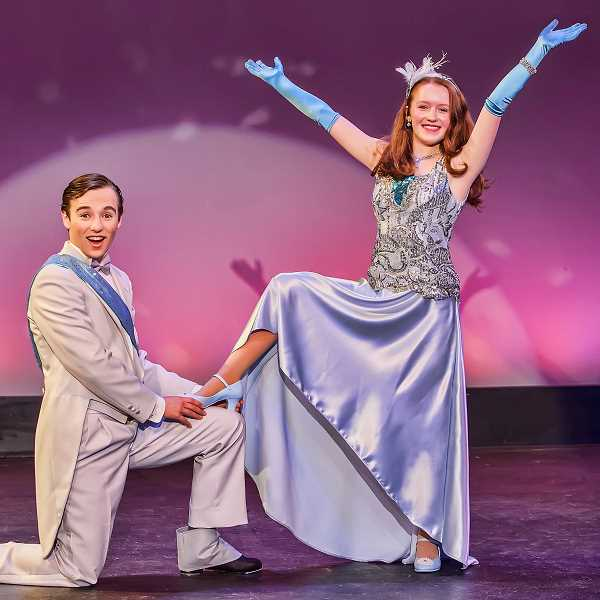 by: SUBMITTED PHOTO: DAVID KINDER - See Prince Bobby, played by Martin Tebo, and Cinderella, played by Sophie MacKay, in Northwest Children's Theatre production of 'Cinderella' opening April 27.