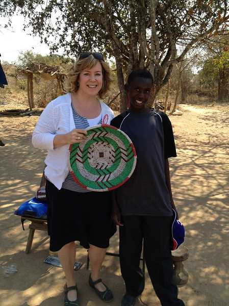 by: SUBMITTED - Sharron Reichle has been the great communicator for WaterAfrica. Her trip to Zambia in July of last year made a big impression on her.