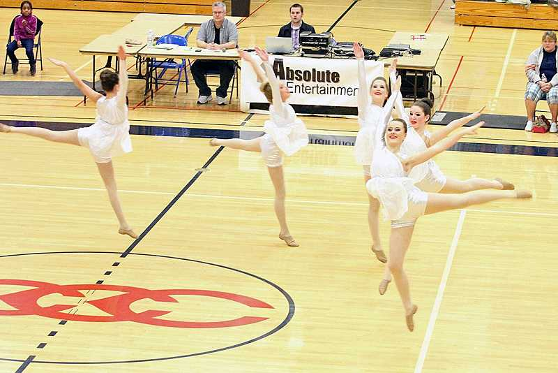 by: SUBMITTED PHOTO - Junior Pacer Dancers swept the competition at the state championships.