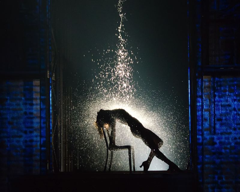 by: COURTESY OF KYLE FROMAN - Emily Padgett plays blue-collar worker and dancing dreamer Alex Owens in the musical 'Flashdance,' starting April 23 at Keller Auditorium.