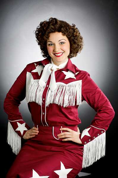 by: SUBMITTED PHOTO: CRAIG MITCHELLDYER - Sara Catherine Wheatley as singer Patsy Cline poses for publicity shots for the 2009 Broadway Rose production of 'Always... Patsy Cline,' which came in handy since the show is being produced again this year.