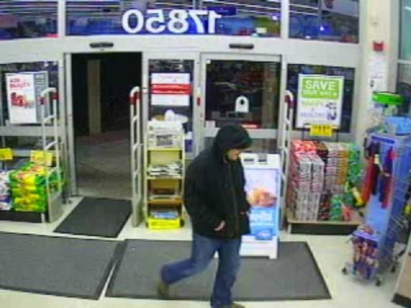 by: SUBMITTED PHOTO - Tualatin police are looking for this man, who reportedly robbed a Tualatin Walgreens at gunpoint on Saturday. The suspect is a 5'5' Caucasian male with blue eyes, and appears to be between 30 and 40 years old.