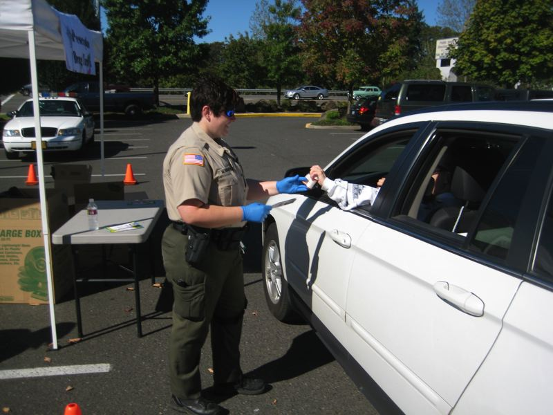 by: 2010 FILE PHOTO COURTESY: CCSO - Clackamas County Sheriffs Office holds a no-questions-asked Prescription Drug Take-Back this weekend.