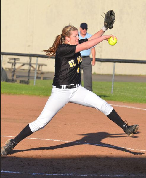 by: JOHN BREWINGTON - Mariah Mulcahy has been the Lady Lions pitcher in all but one game this season.