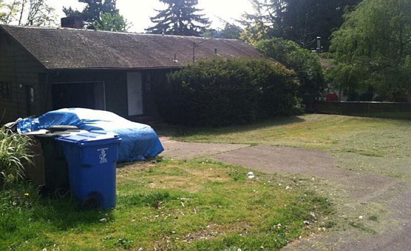 by: KOIN CHANNEL 6 - This is the house in Oak Grove where Ashley Dawn Guldager was arrested on aggravated animal abuse charges.