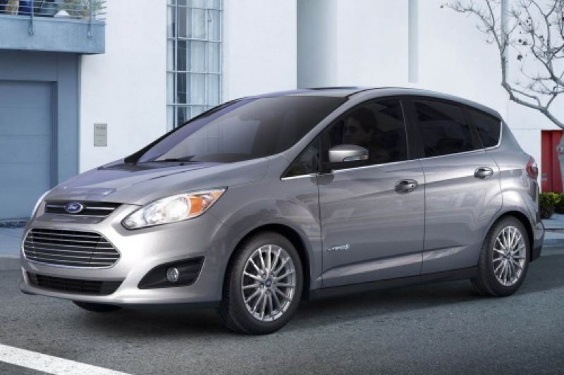 by: FORD MOTOR COMPANY - The 2013 C-Max is Ford's first pure hybrid.
