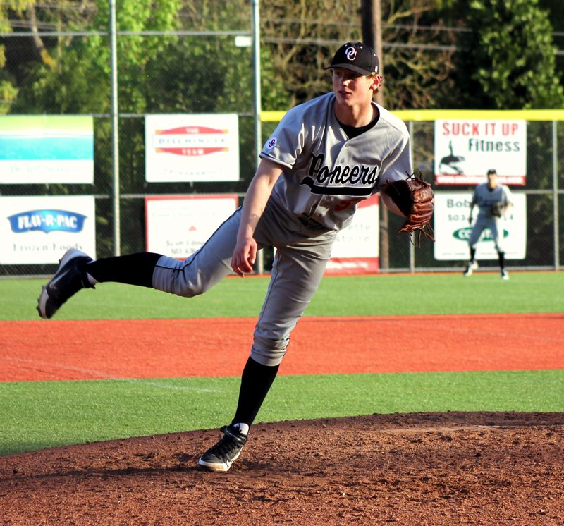 by: RYAN LA GRANGE - Oregon City junior right-handed Jacob Tipton pitched a complete game in last weeks 3-0 upset of third-ranked Lake Oswego.