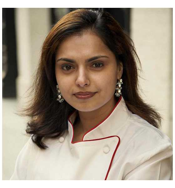 by: SUBMITTED PHOTO - Celebrity chef Maneet Chauhan, pictured, will be at Savory Spice Shop in Sellwood May 7 for a book signing with co-author Doug Singer.