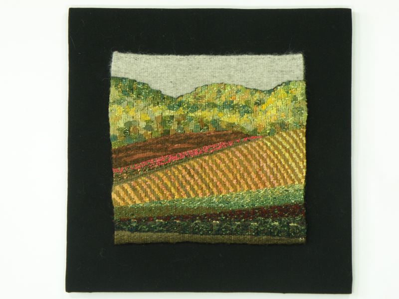 by: CONTRIBUTED PHOTO: TERRY OLSON - This tapestry, titled See a Vineyard by Barbara Hitzemann, will be a part of the unique display coming to the Sandy Public Library on May 6.