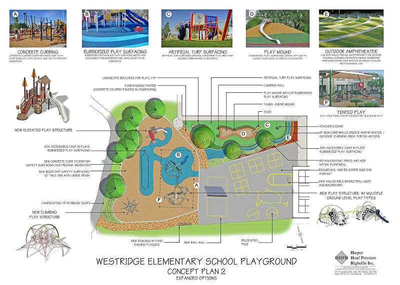 by: SUBMITTED GRAPHIC: HARPER HOUF PETERSON RIGHELLIS INC. - Construction on the entire Westridge Elementary School playground could be finished this summer if the PTSO can obtain enough funds.