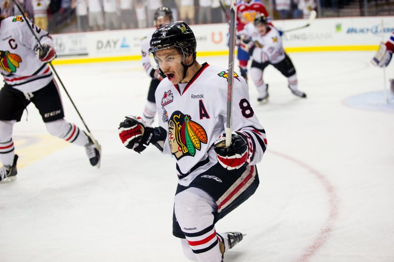 by: TRIBUNE PHOTO: CHRISTOPHER ONSTOTT - A few years ago, the Portland Winterhawks drafted Ty Rattie and a corps of other players who have led the team back to prominence.