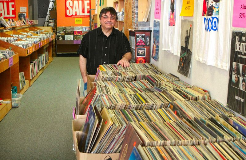 by: DAVID F. ASHTON - After a lifetime in the recorded music business, John Gregos sells off this stash of both popular and rare music.