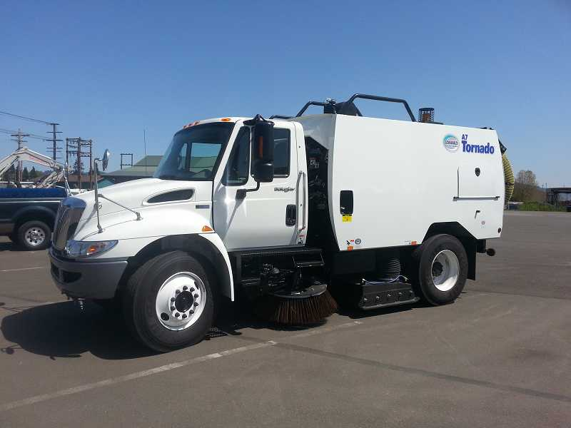 by: SUBMITTED PHOTO - The Schwarze A7000 Street Sweeper should arrive in July.