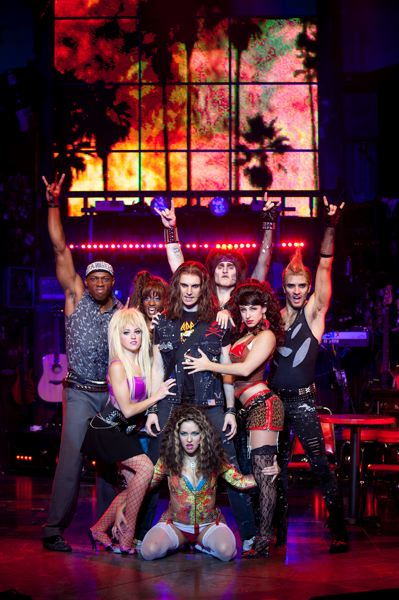 by: COURTESY OF KATE EGAN - Lead character Drew and company perform I Wanna Rock and other 1980s rock anthems and ballads in Rock of Ages, May 28-June 2 at Keller Auditorium.