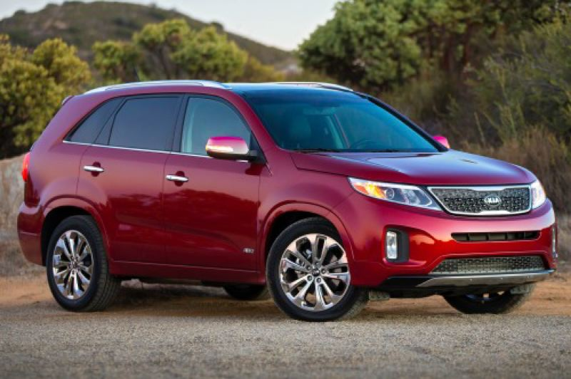 by: KIA NORTH AMERICA - The Kia Sorento is both refreshed and upgraded for 2014.